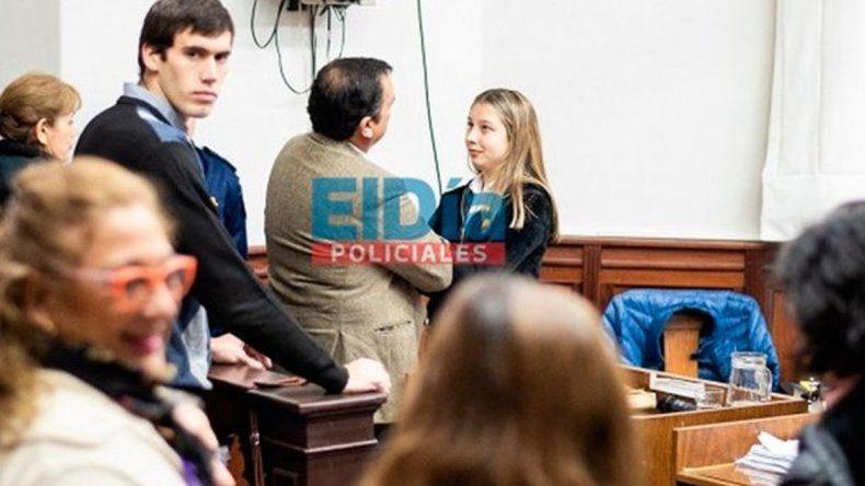 Nahir reapareció en el juicio luego de amenazar con quitarse la vida