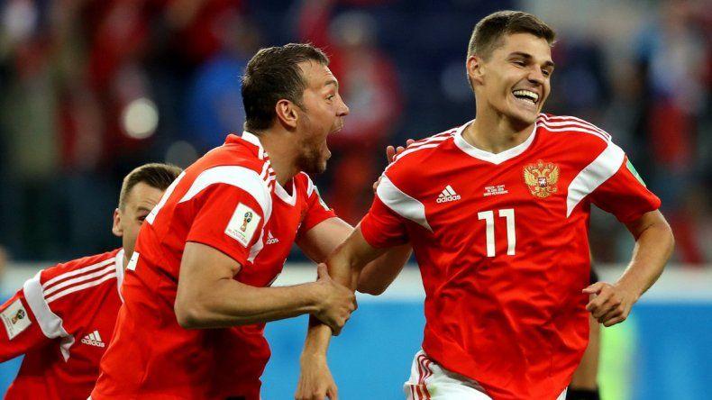 Rusia le ganó a Egipto y tendría sellada la clasificación