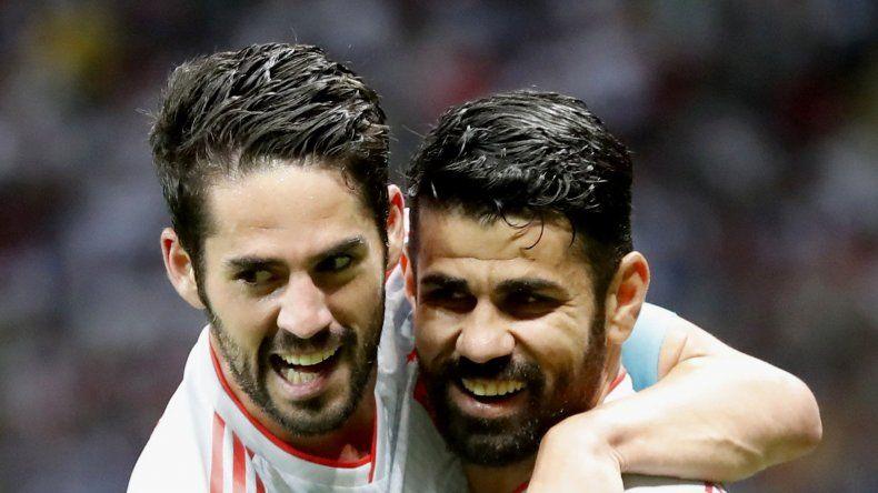 España venció a Irán con angustia