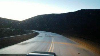 Así están las rutas de Chubut y Santa Cruz este jueves