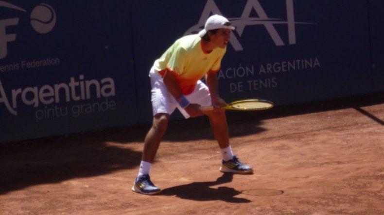 El cordobés Cachín avanzó a cuartos de final en torneo francés