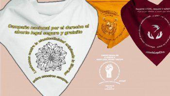 de argentina para america latina: estos son los panuelos para pedir por el aborto legal