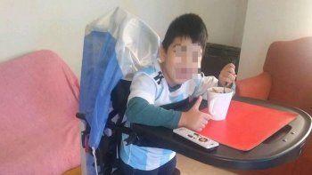 pago 10 mil pesos para rescatar las ortesis que le robaron a su hijo