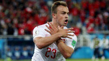 Suiza lo ganó en el último minuto