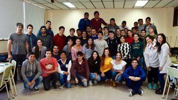 PAE cuenta en la actualidad con más de 90 becarios en Chubut y Santa Cruz.