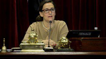 Gabriela Michetti desmintió que existan demoras en el tratamiento del proyecto en el Senado.