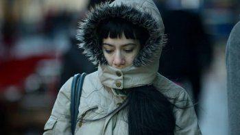 comodoro amanecio con sensacion termica bajo cero