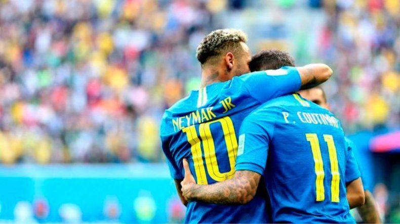 Brasil doblegó a Costa Rica  y está a un paso de clasificar