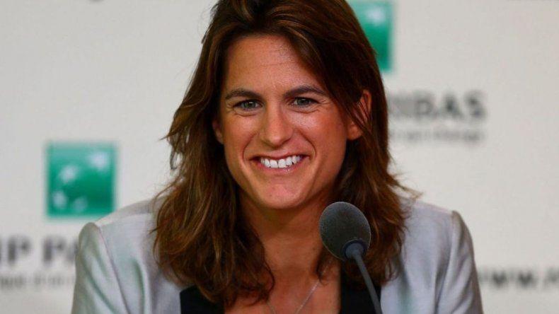 La extenista Amelie Mauresmo será capitana de Francia en la Davis