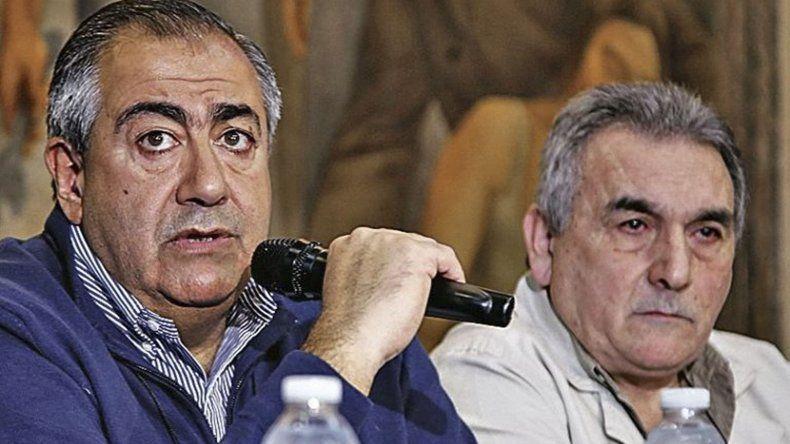Héctor Daer y Juan Carlos Schmid