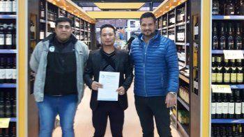 nuevo convenio de petroleros jerarquicos con un supermercado