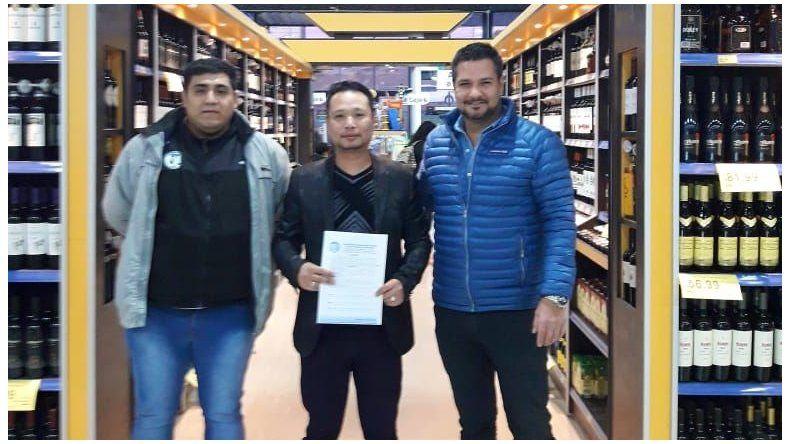 Nuevo convenio de la Mutual de Petroleros  Jerárquicos con un supermercado en Caleta