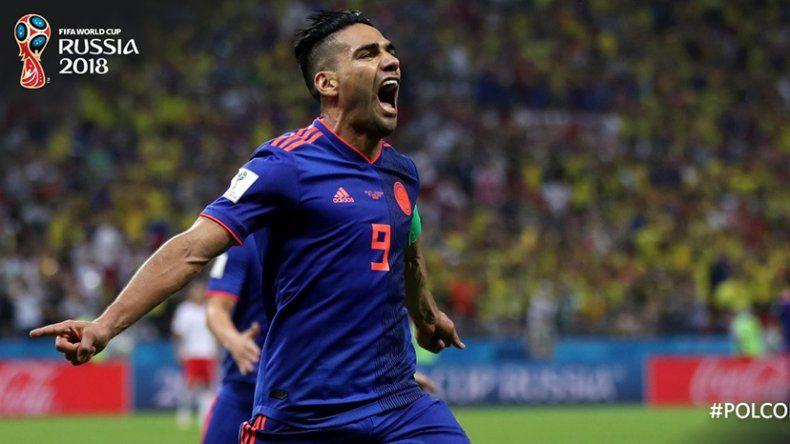 Colombia goleó a Polonia y define su pase ante Senegal