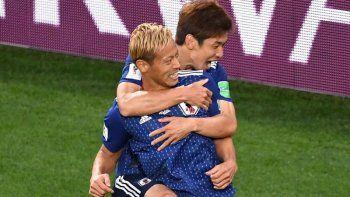 senegal y japon empataron 2-2 y siguen sonando