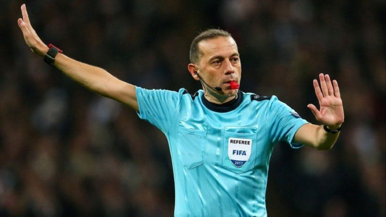 Un turco será el árbitro del partido clave