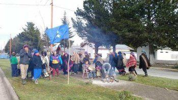 Jones Huala pudo celebrar el año nuevo mapuche