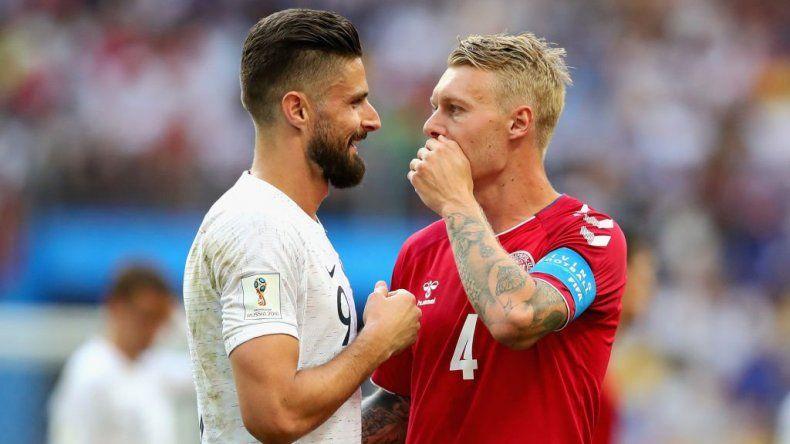 Dinamarca y Francia pactaron un aburrido empate