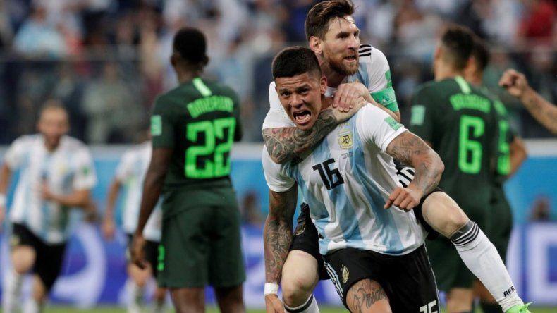 Argentina se clasificó a octavos de final