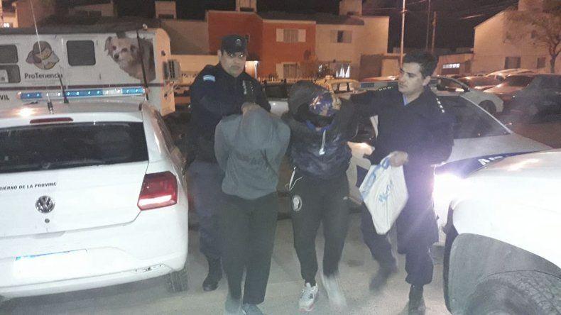 Los sospechosos fueron detenidos el lunes a la noche