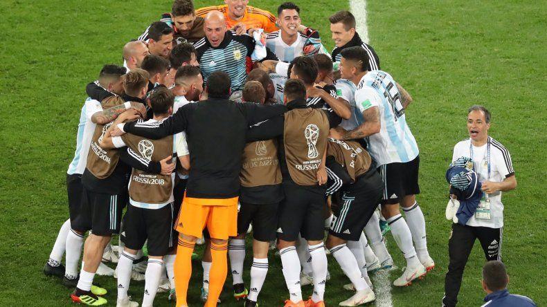 El desahogo final de toda la Argentina.