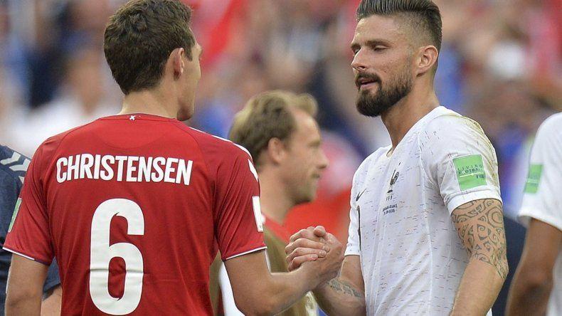 Francia y Dinamarca no arriesgaron  y sellaron un empate sin goles