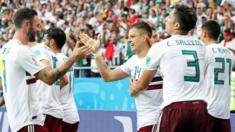 Pese a la goleada de Suecia, México pasó a octavos