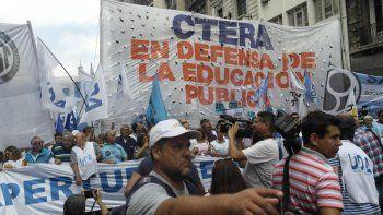 La Ctera anunció un paro en apoyo a los docentes de Chubut
