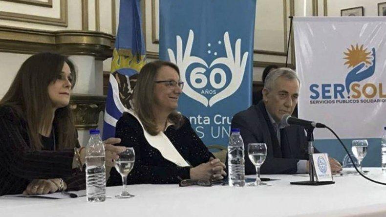 La gobernadora Alicia Kirchner presentó el programa SerSol