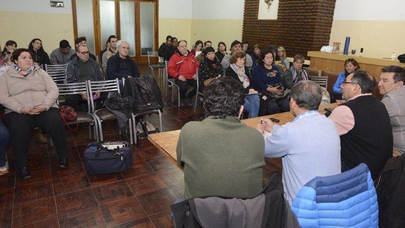 El encuentro de funcionarios municipales con vecinalistas de la Zona Norte