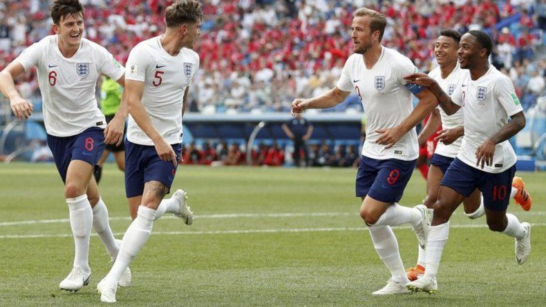 Inglaterra goleó a Panamá y es candidato a quedarse con el primer lugar del Grupo G.