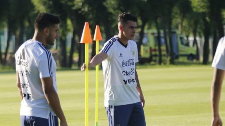 Argentina se entrena pensando en Francia