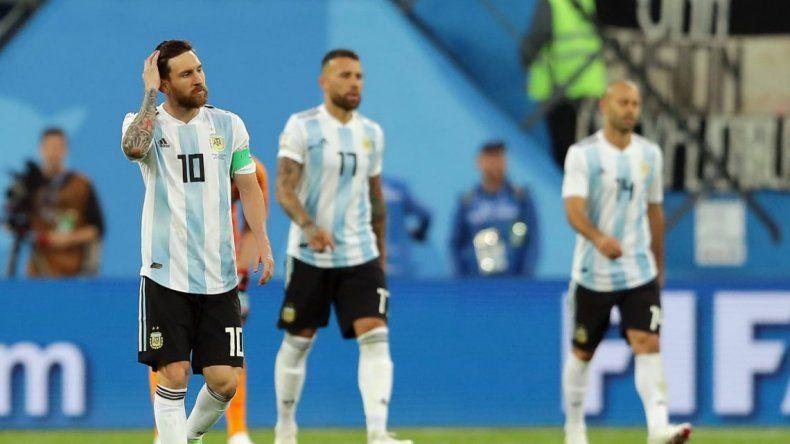 Argentina usará la camiseta celeste y blanca con Francia