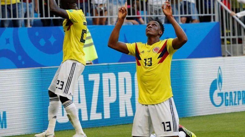 Colombia ganó y pasó a octavos como líder de grupo
