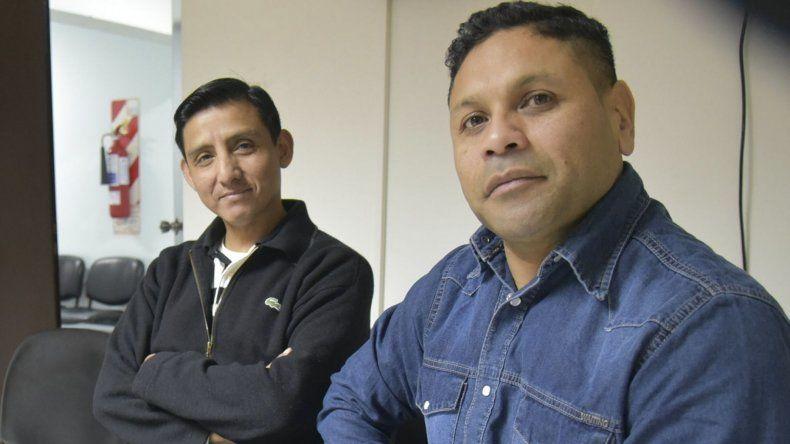 Luis Cruz y Jorge Mercado fueron los suboficiales mecánicos de la Armada que ayer prestaron declaración testimonial en el Juzgado Federal de Caleta Olivia.
