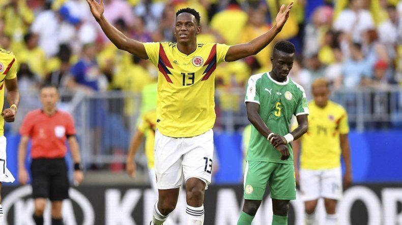 Yerry Mina le dio a Colombia la victoria necesaria para meterse entre los mejores 16 equipos de la Copa del Mundo.