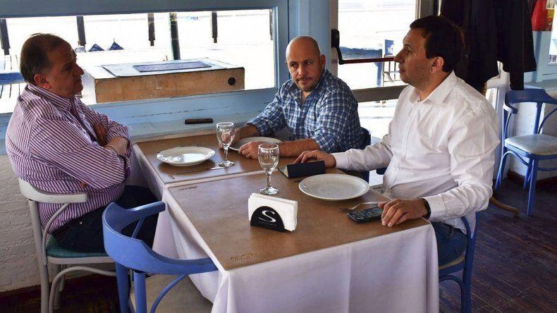 El encuentro de Linares con Maderna y Sastre.