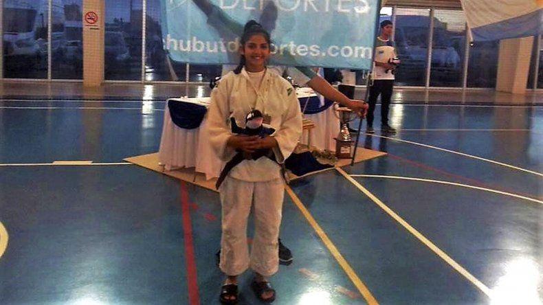 Proyección y futuro. Antonella Smart suma su cuarta convocatoria con la selección argentina de judo.