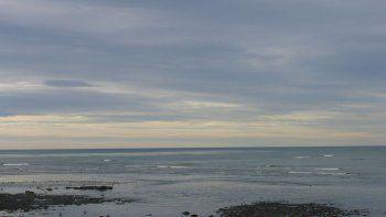 viernes fresco y con cielo parcialmente nublado