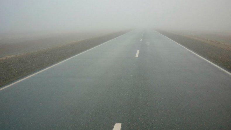 Así están las rutas de Chubut y Santa Cruz este viernes