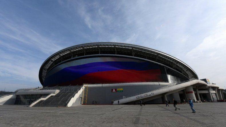 Así es el Kazán Arena, el estadio donde la Selección argentina enfrentará a Francia
