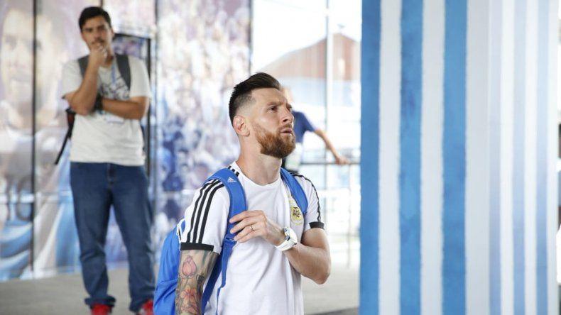 La Selección Argentina ya está en Kazán
