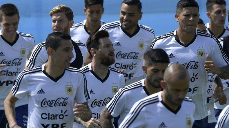 ¿Argentina juega sin 9 contra Francia?