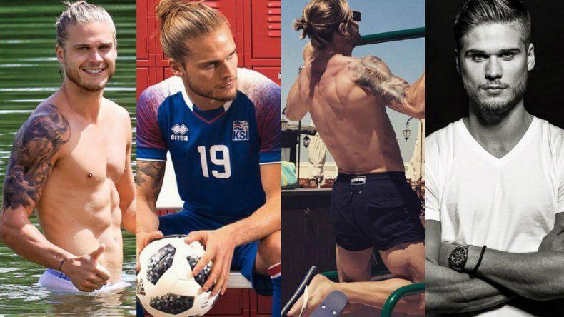 ¿Viene a  Argentina es jugador de Islandia más deseado?
