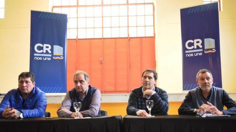 Linares presidió la licitación de obras por más de 165 millones de pesos