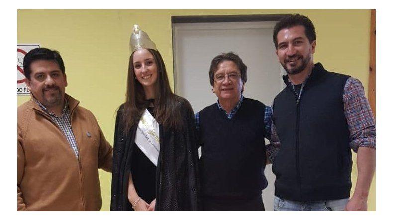 Petroleros Jerárquicos participó de los actos por el aniversario de Sarmiento