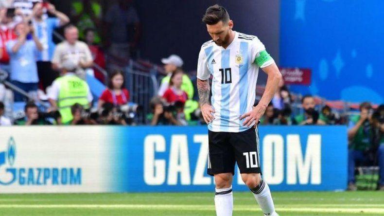 Argentina perdió y se despidió del Mundial