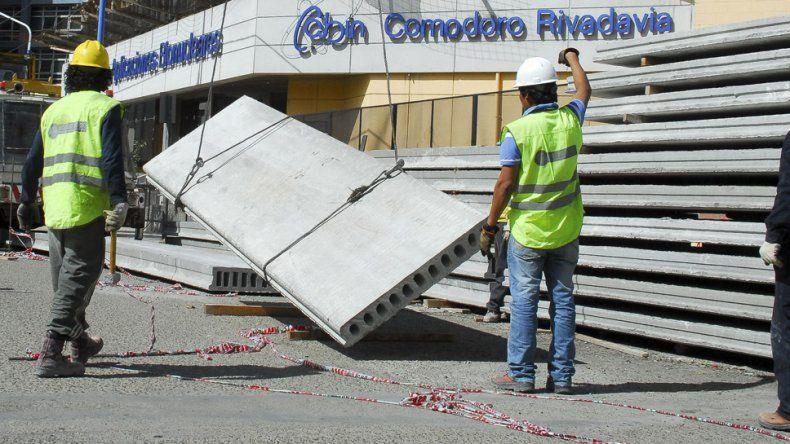 La obra en el CABIN se encuentra paralizada y afecta las fuentes laborales de 50 trabajadores.