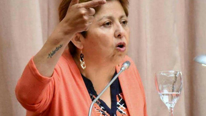 Viviana Navarro volvió a reclamar por las obras  de ampliación de la morgue del Hospital Regional