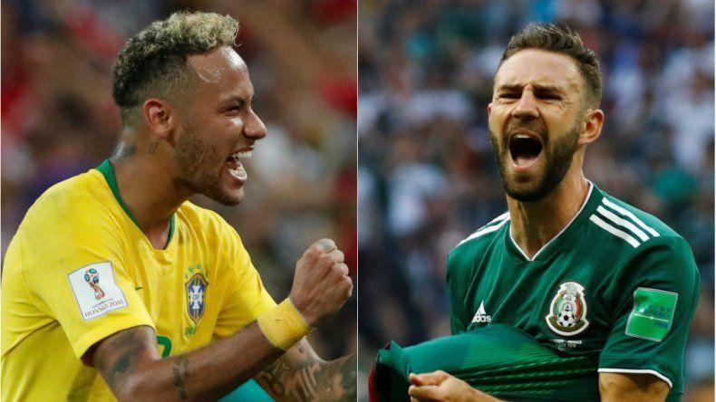 Brasil se sacó de encima a México y ya está en cuartos