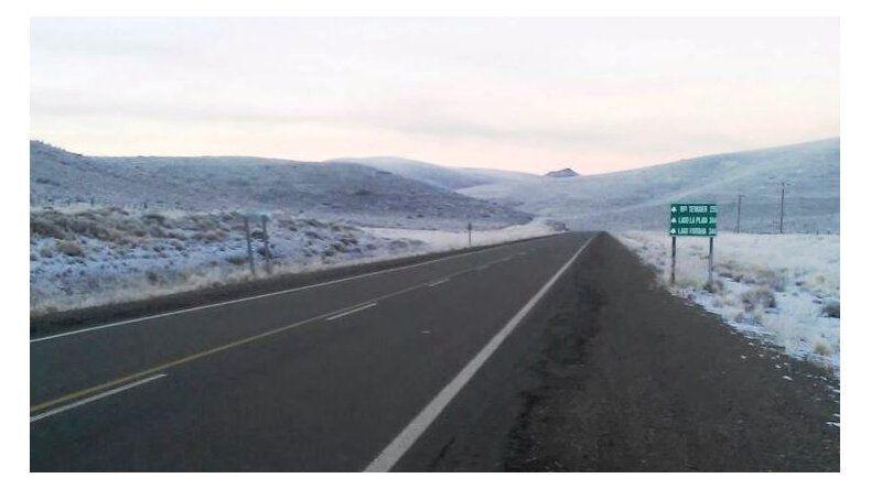Rutas con nieve: piden circular con extrema precaución